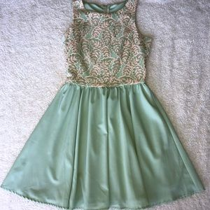 Green Altard State Dress
